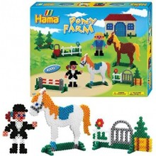 Hama Maxi Bead - Pony Farm Bead Set