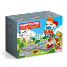 Magformers Town Set - City Bus