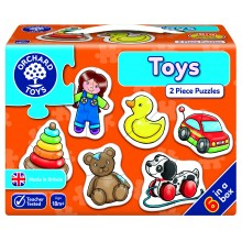 First Puzzle - Toys ( 2-piece puzzles )
