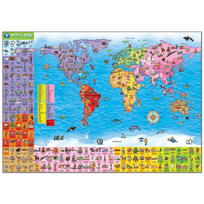Orchard toys world map poster gumiabroncs Images