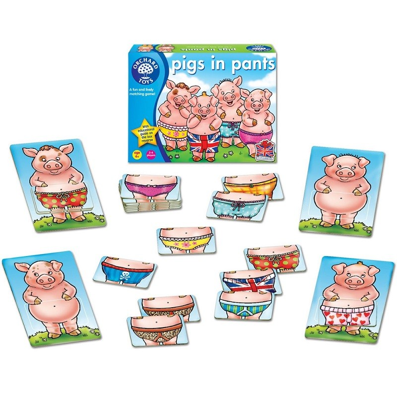 Orchard toys pigs in pants gumiabroncs Choice Image