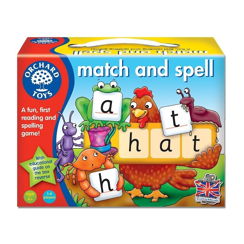 Orchard toys match and spell for Gardening tools for 6 year old