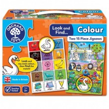 Orchard Toys Look and Find Jigsaw – Colour