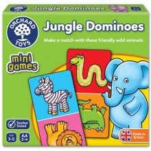 Orchard Toys Mini Games – Jungle Dominoes