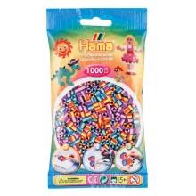 Hama Midi 1,000 Bead Bag - Mix Coloured Striped